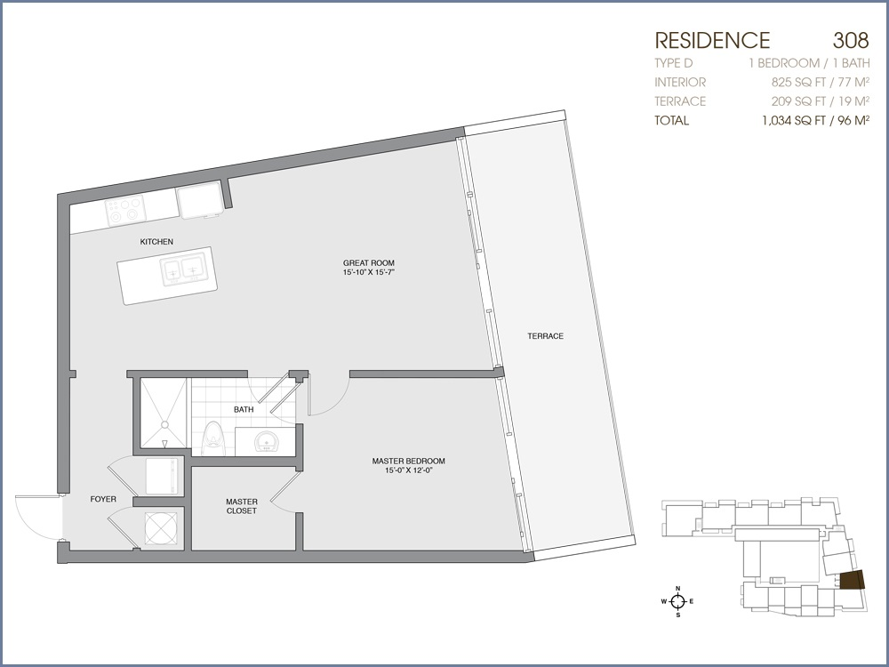 Palau Sunset Harbour - Floorplan 17