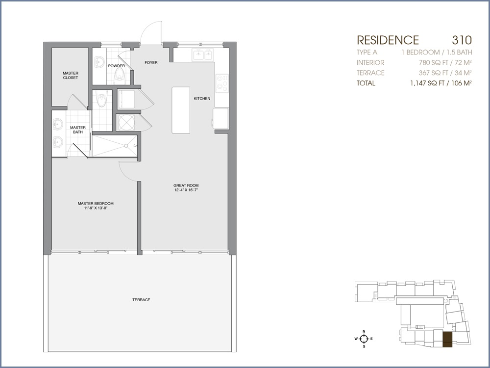 Palau Sunset Harbour - Floorplan 18