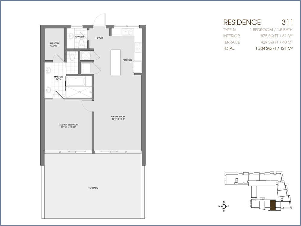 Palau Sunset Harbour - Floorplan 19