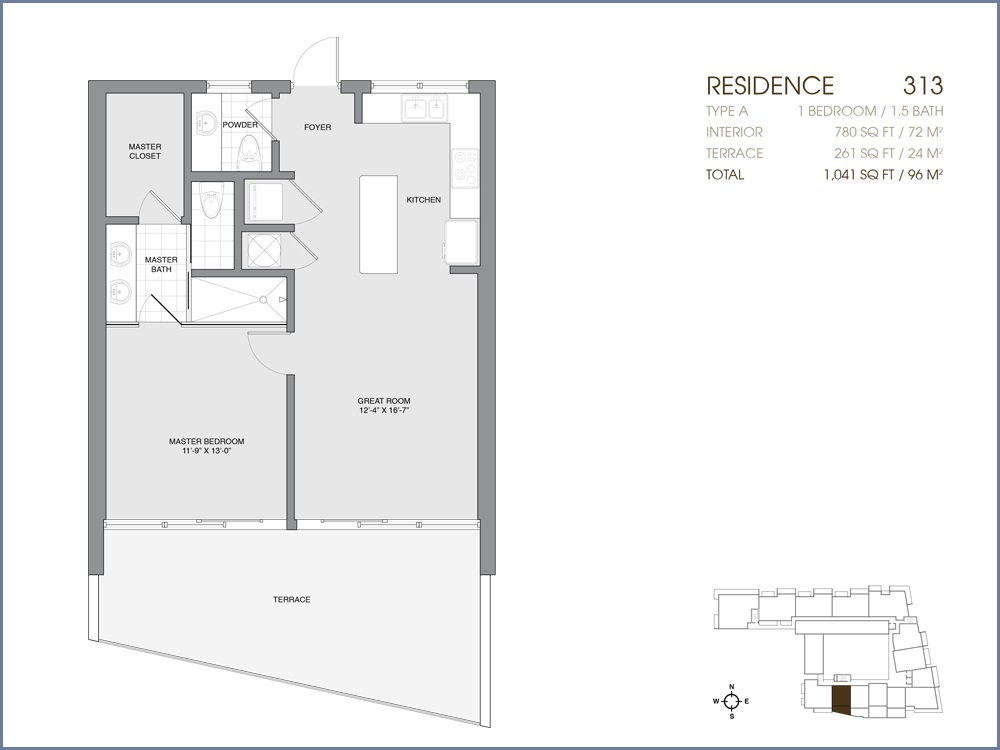 Palau Sunset Harbour - Floorplan 21