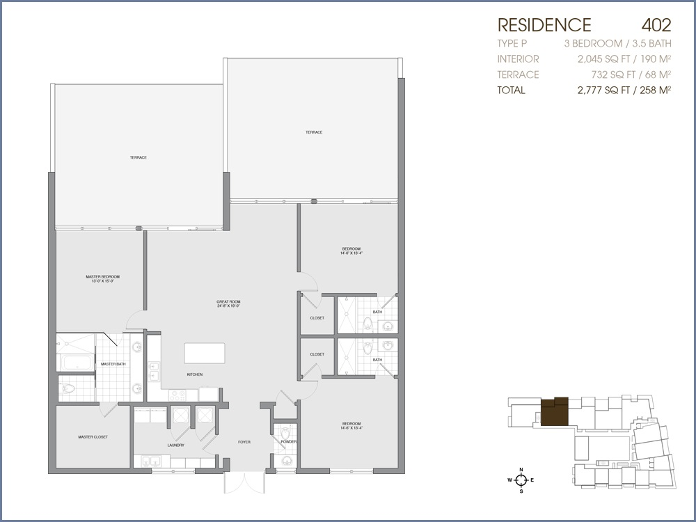 Palau Sunset Harbour - Floorplan 22