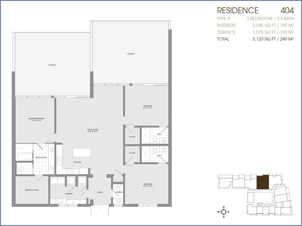 Palau Sunset Harbour - Floorplan 25