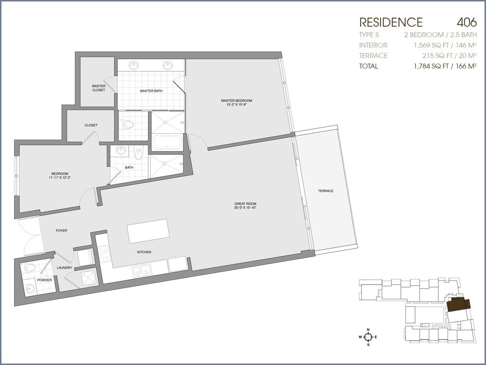 Palau Sunset Harbour - Floorplan 30