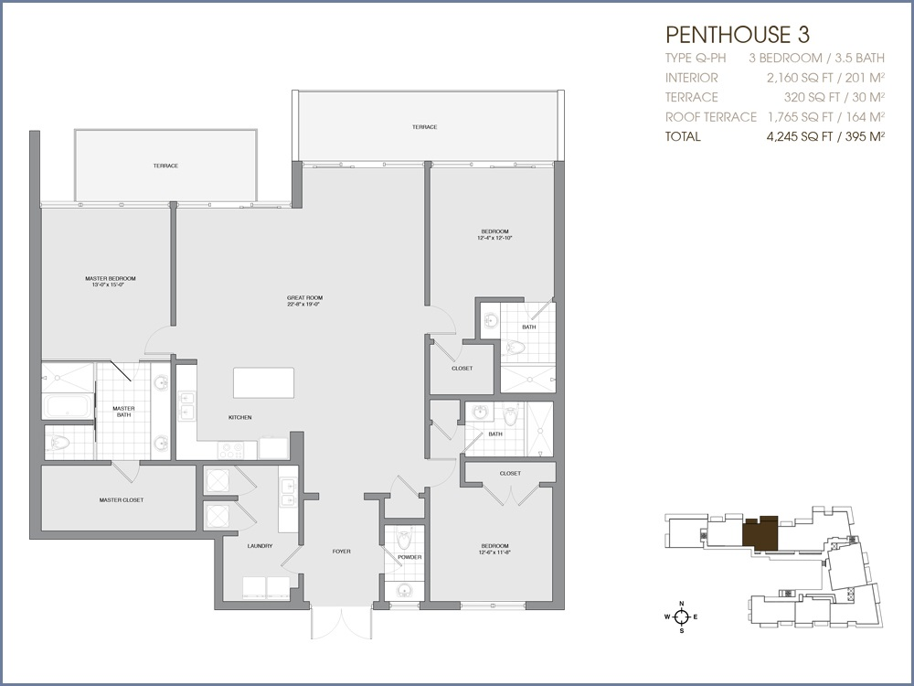 Palau Sunset Harbour - Floorplan 40