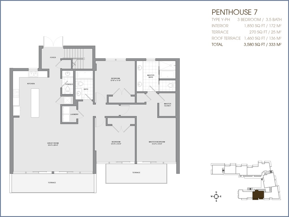 Palau Sunset Harbour - Floorplan 43