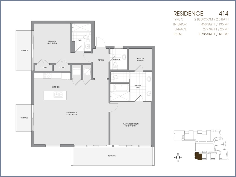 Palau Sunset Harbour - Floorplan 45