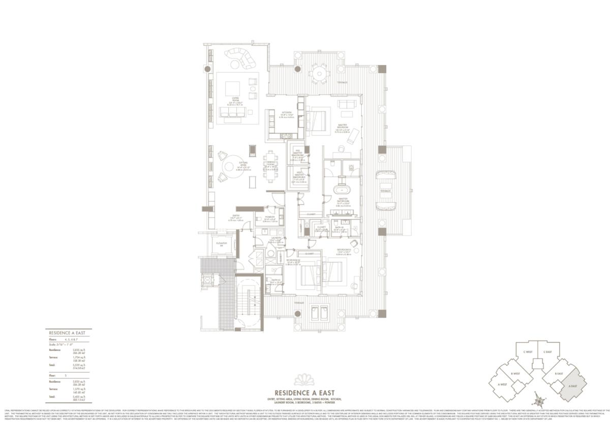 Palazzo Del Sol - Floorplan 1