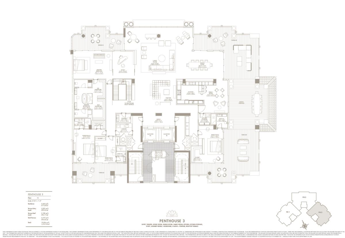 Palazzo Del Sol - Floorplan 2