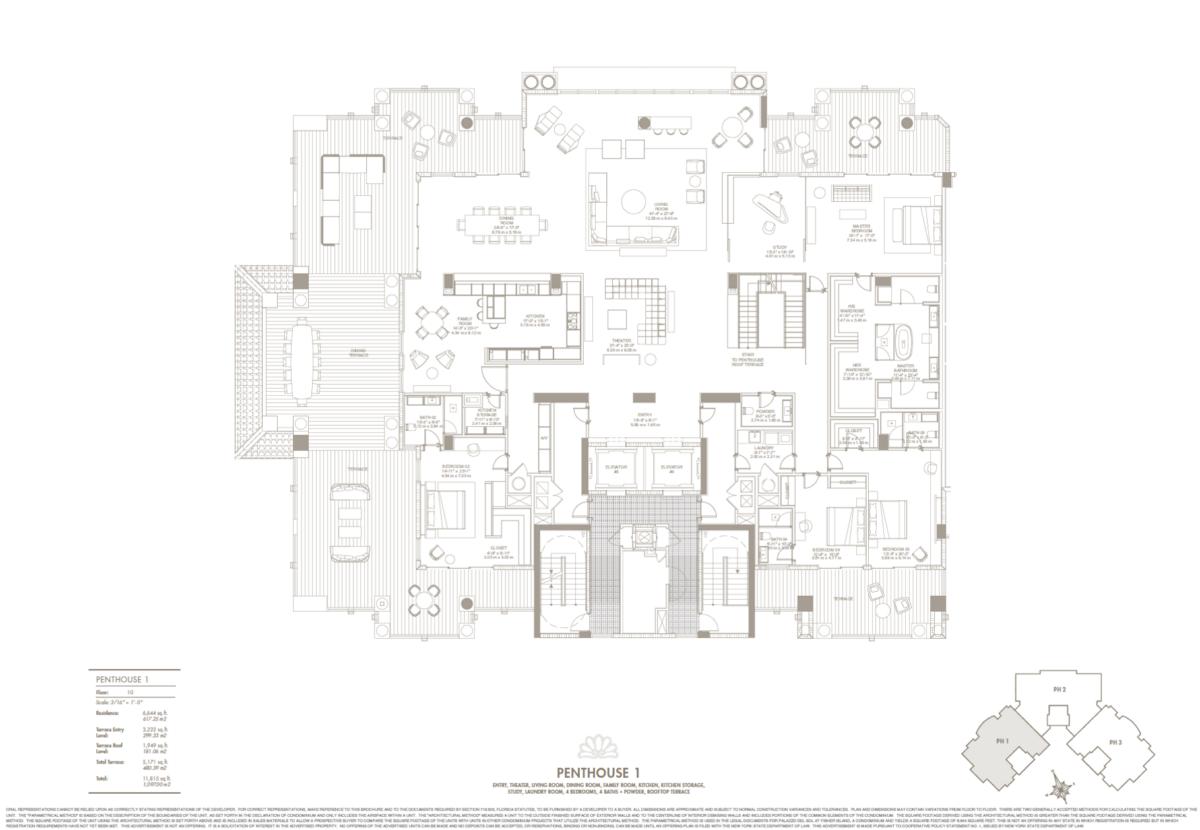 Palazzo Del Sol - Floorplan 3