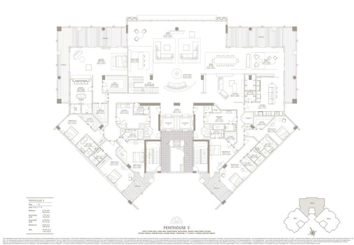 Palazzo Del Sol - Floorplan 4