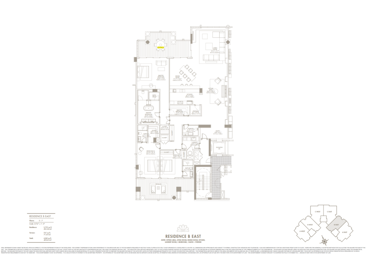 Palazzo Del Sol - Floorplan 5