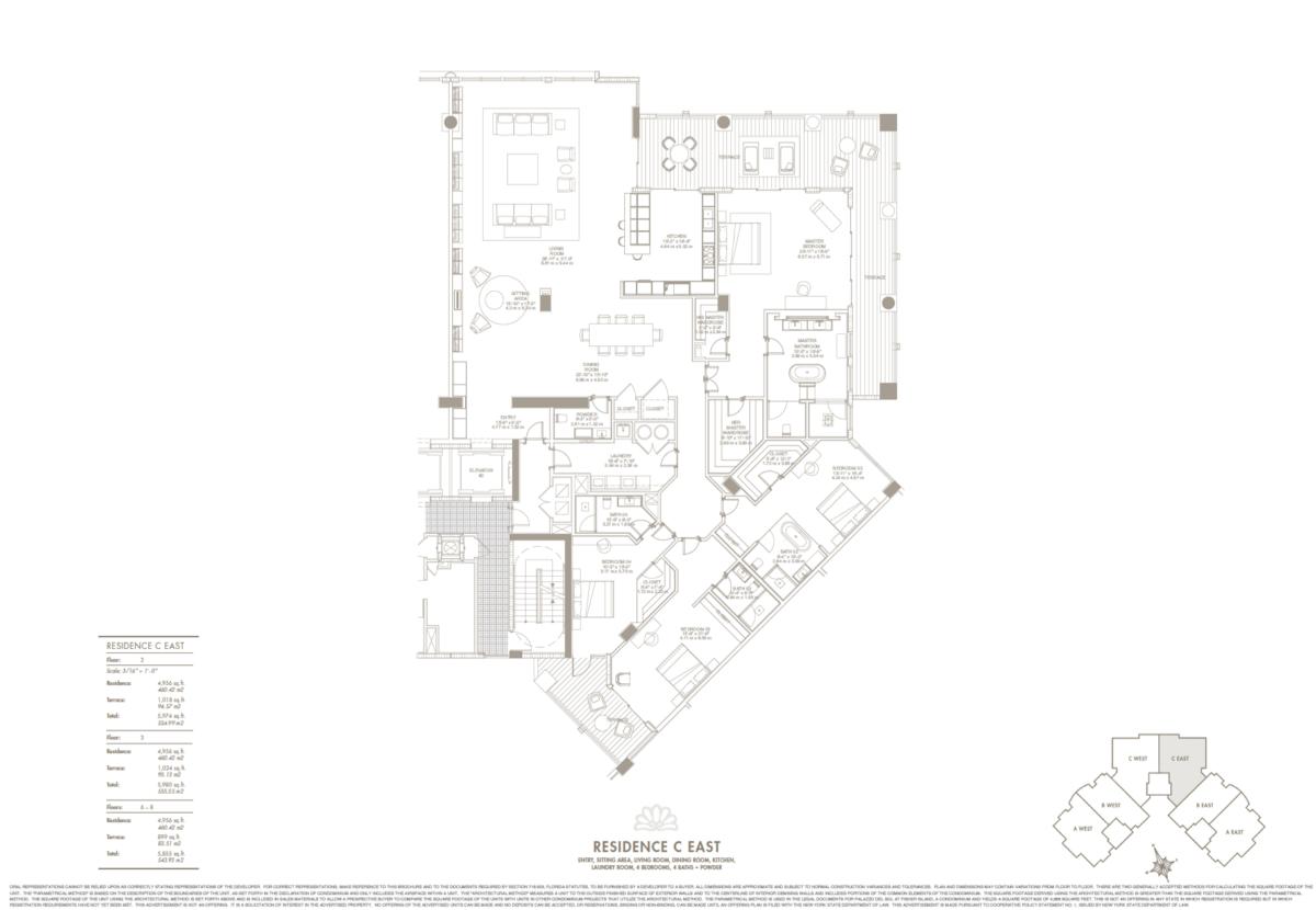 Palazzo Del Sol - Floorplan 6
