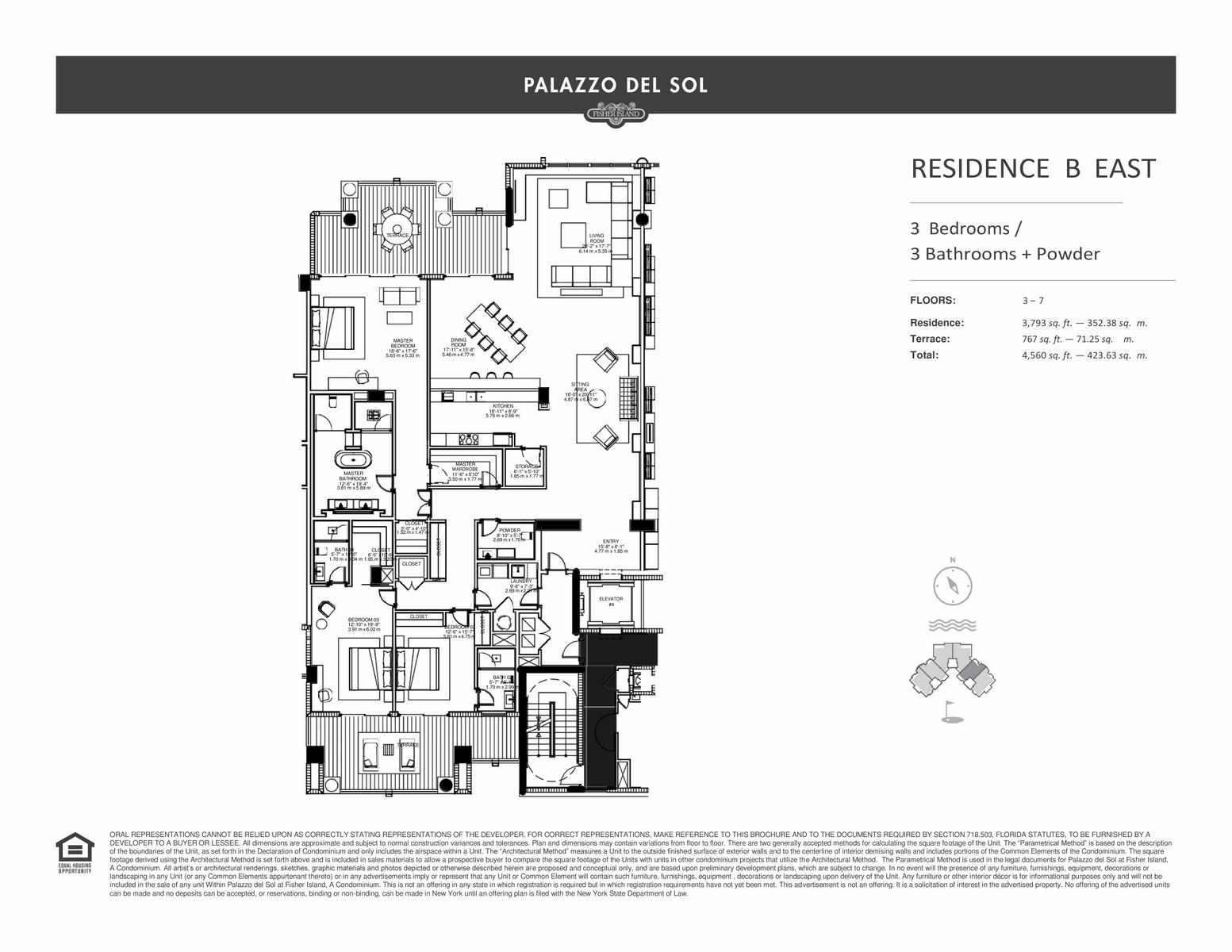Palazzo Del Sol - Floorplan 11