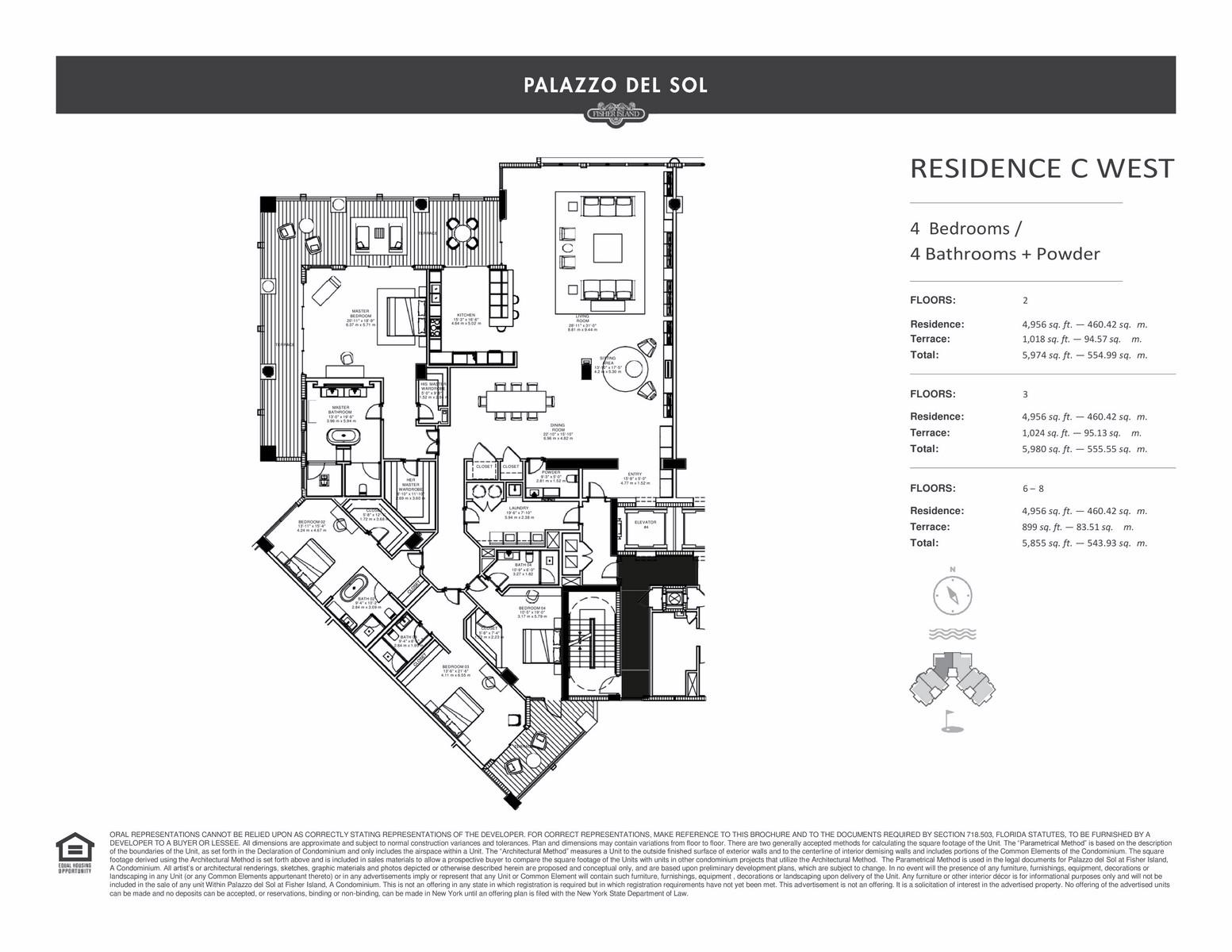 Palazzo Del Sol - Floorplan 13