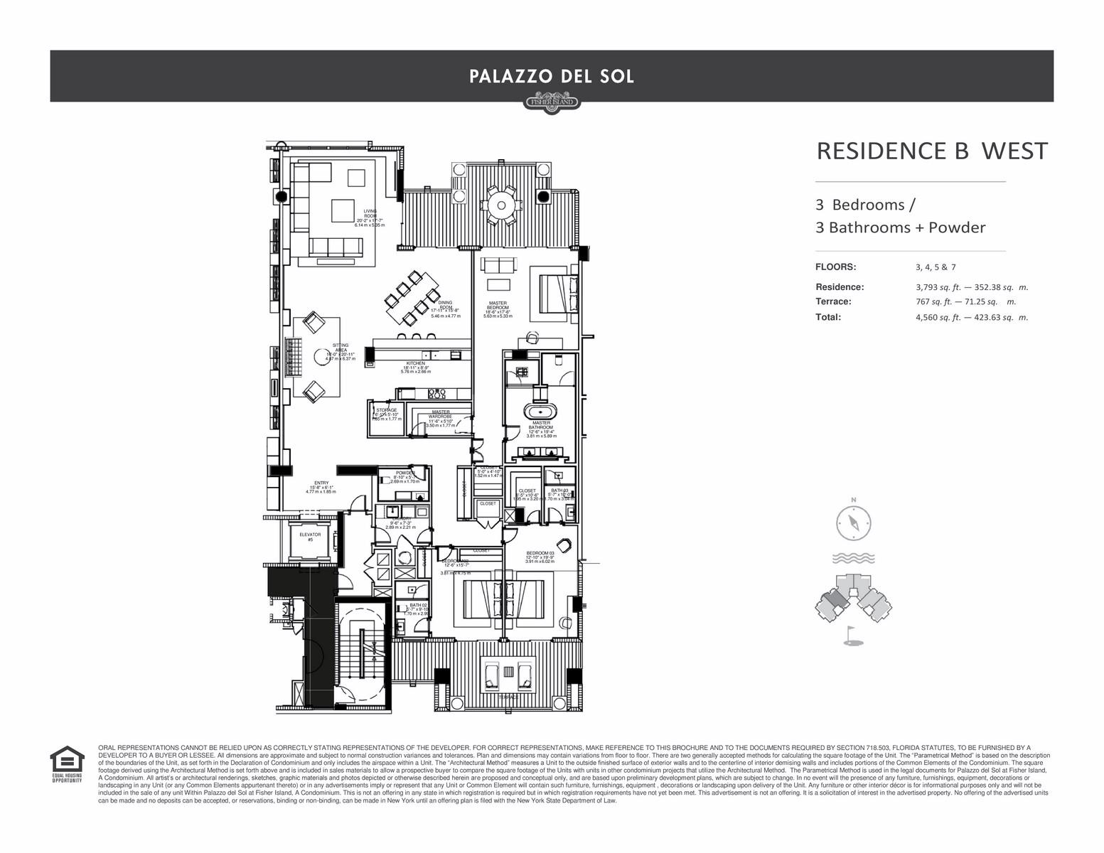 Palazzo Del Sol - Floorplan 12