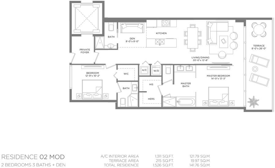 Paraiso Bay - Floorplan 2