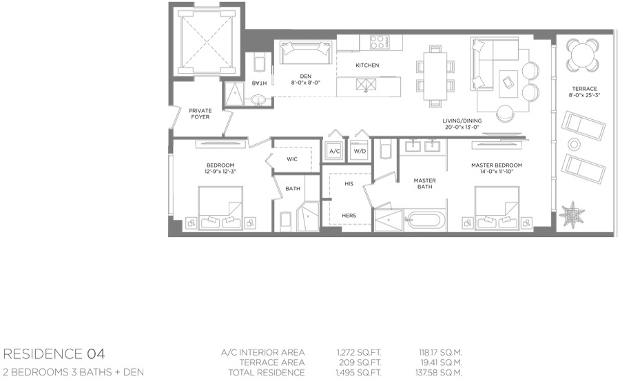 Paraiso Bay - Floorplan 4