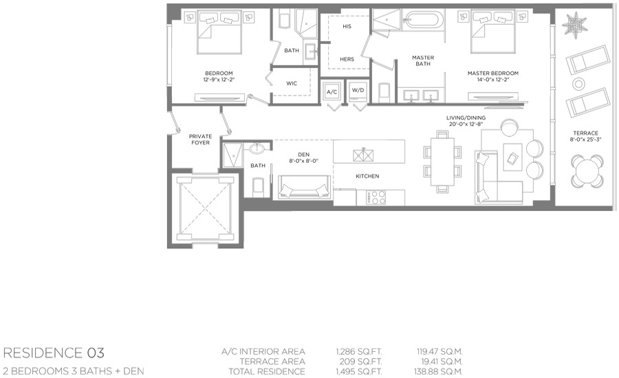 Paraiso Bay - Floorplan 5