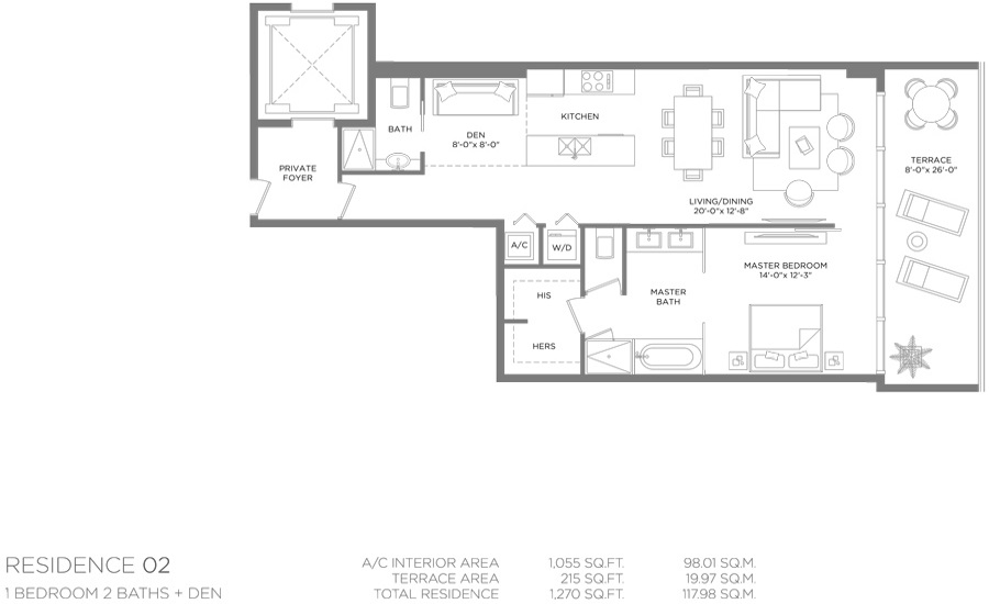 Paraiso Bay - Floorplan 6
