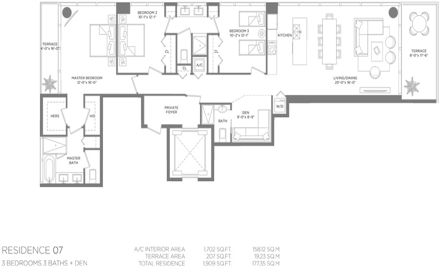 Paraiso Bay - Floorplan 7