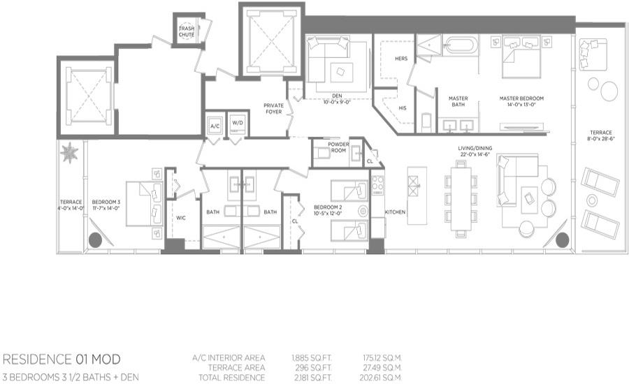 Paraiso Bay - Floorplan 8