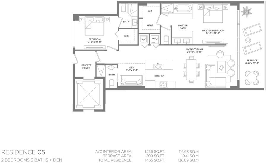 Paraiso Bay - Floorplan 10