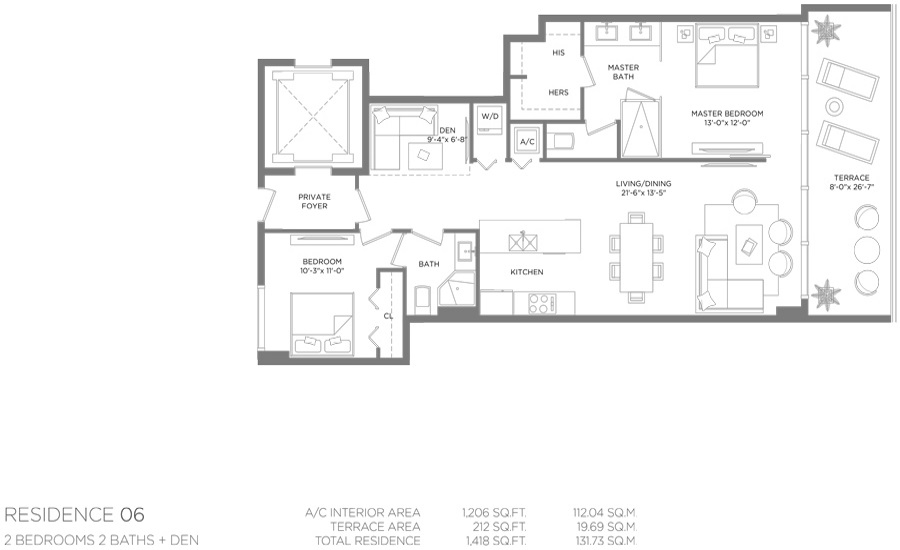 Paraiso Bay - Floorplan 9
