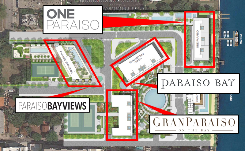 Paraiso Bay - Floorplan 1