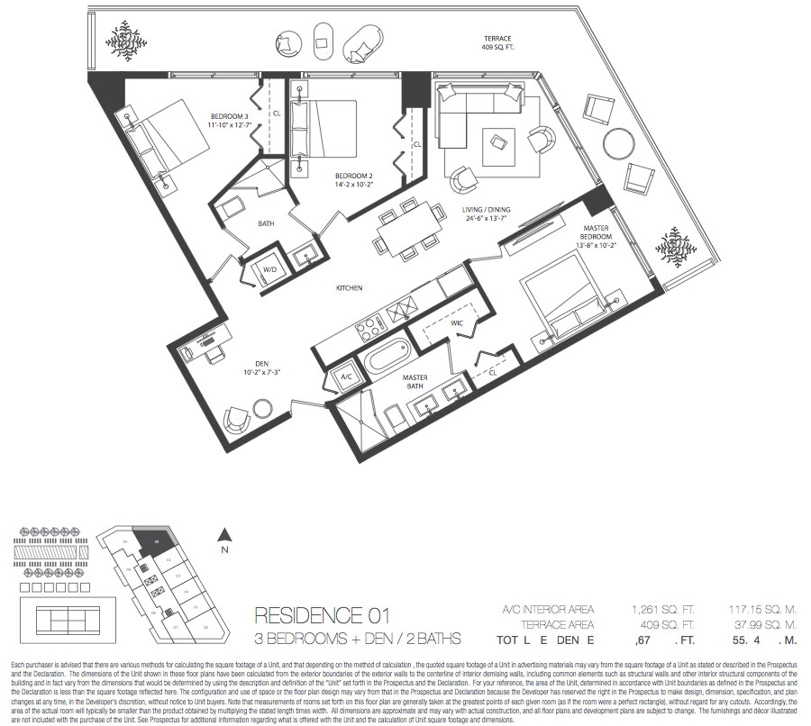 Paraiso Bayviews - Floorplan 3