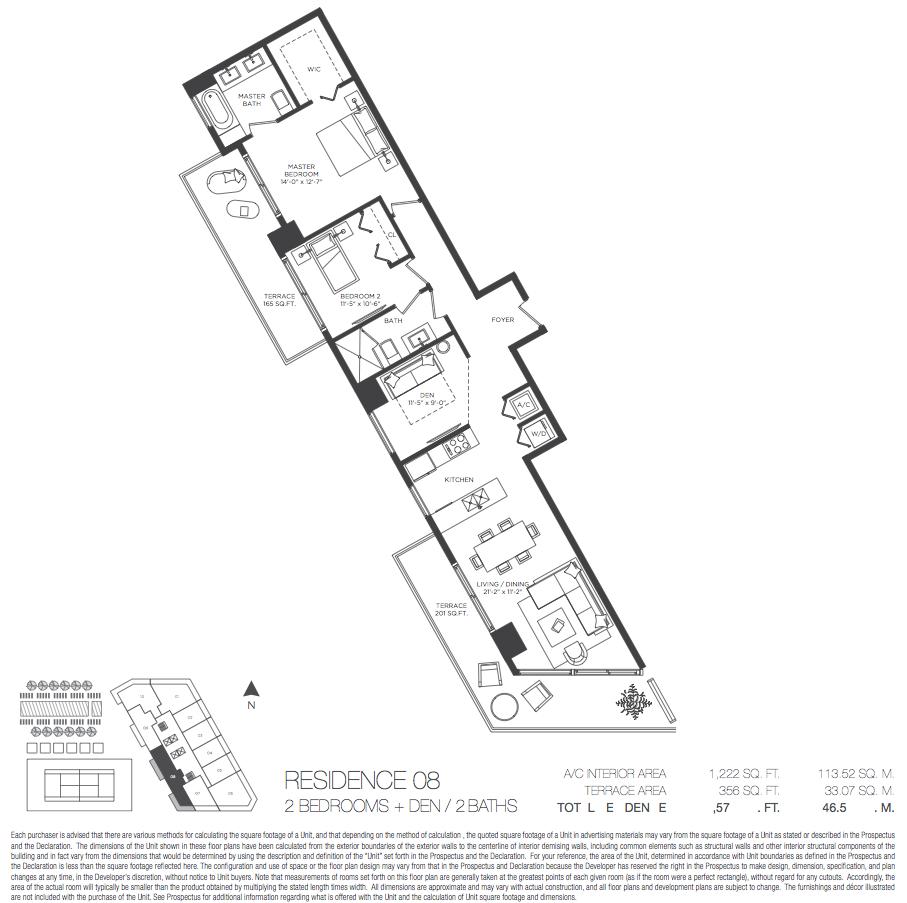 Paraiso Bayviews - Floorplan 7