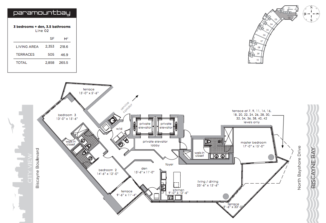 Paramount Bay - Floorplan 2