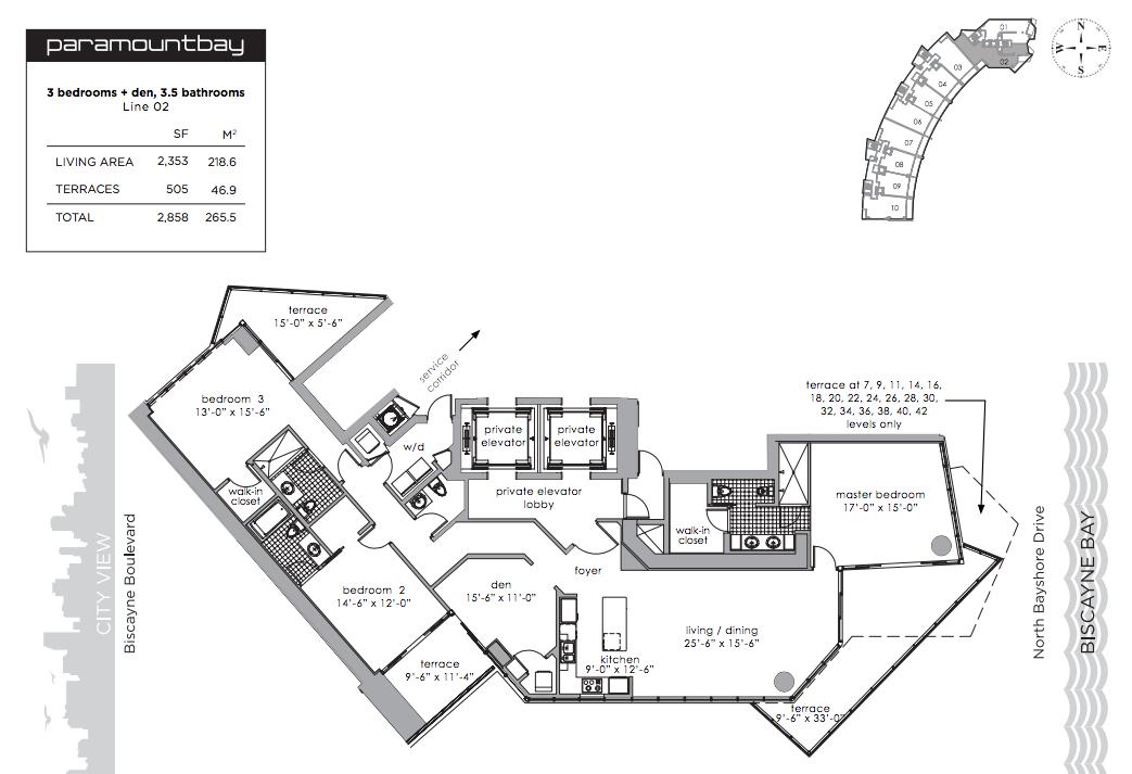 Paramount Bay - Floorplan 2