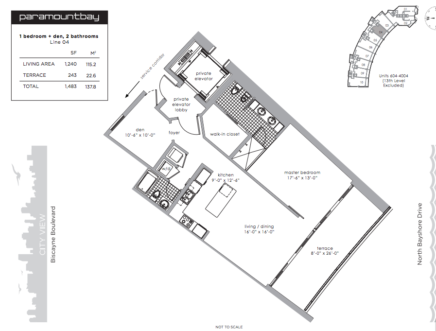 Paramount Bay - Floorplan 3