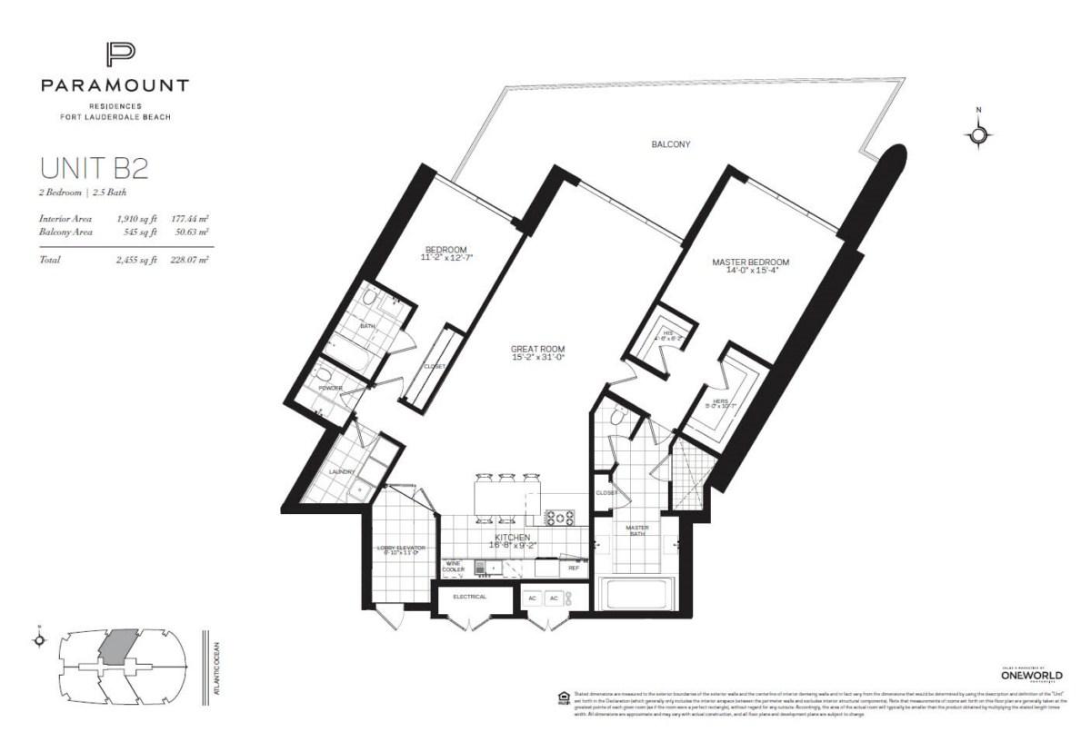 Paramount Residences - Floorplan 2