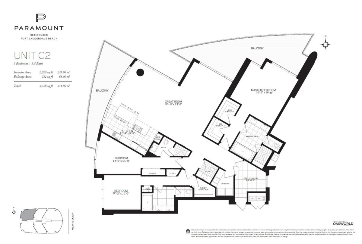 Paramount Residences - Floorplan 3