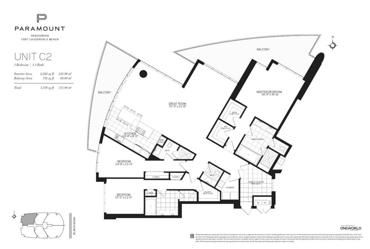 Paramount Residences - Floorplan 3