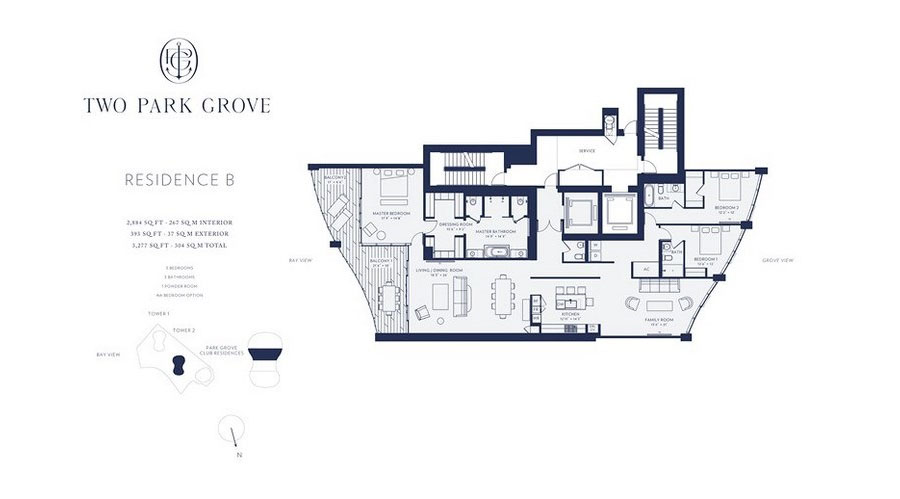 One Park Grove - Floorplan 2