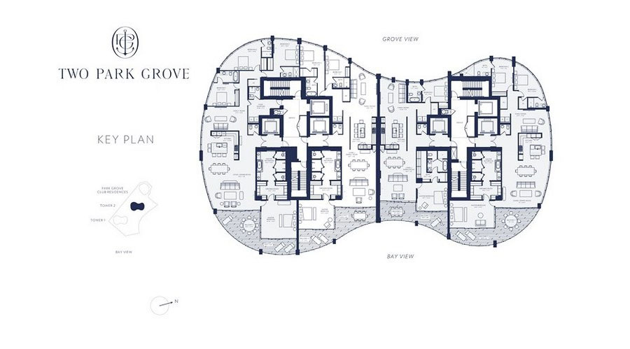 One Park Grove - Floorplan 3
