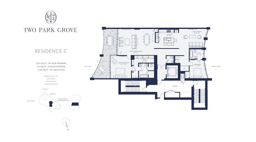 One Park Grove - Floorplan 4