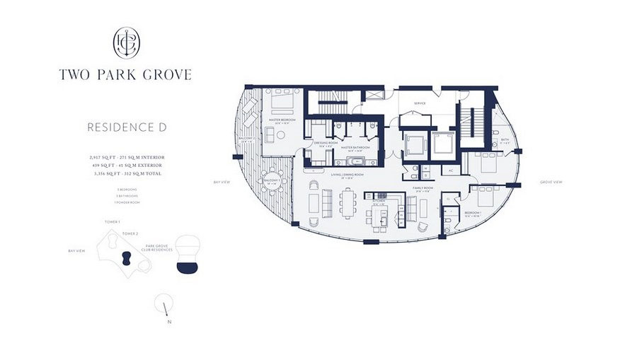 One Park Grove - Floorplan 5