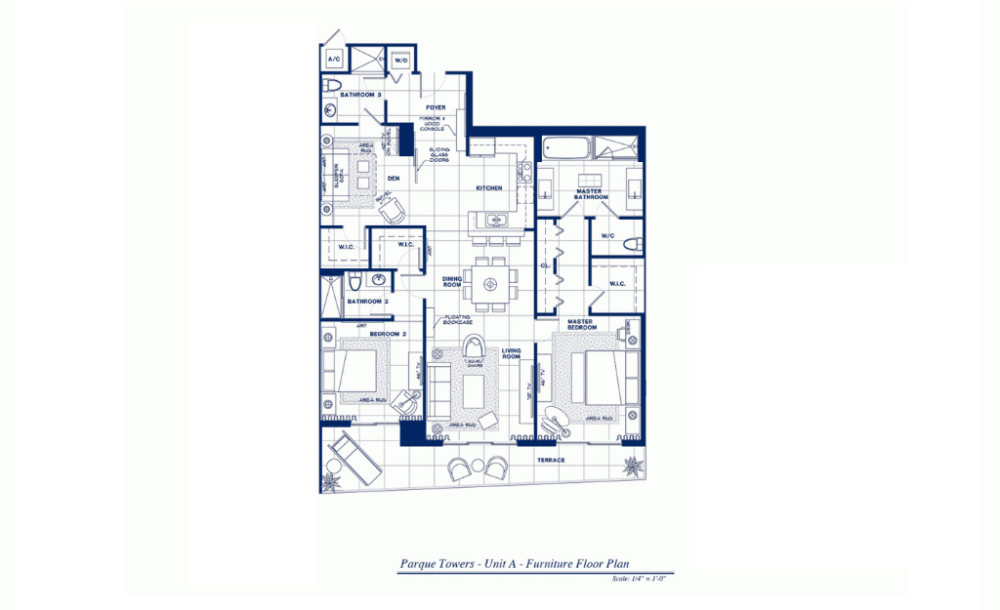 Parque Towers - Floorplan 1
