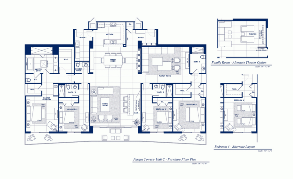 Parque Towers - Floorplan 4