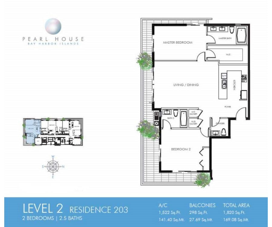 Pearl House - Floorplan 2