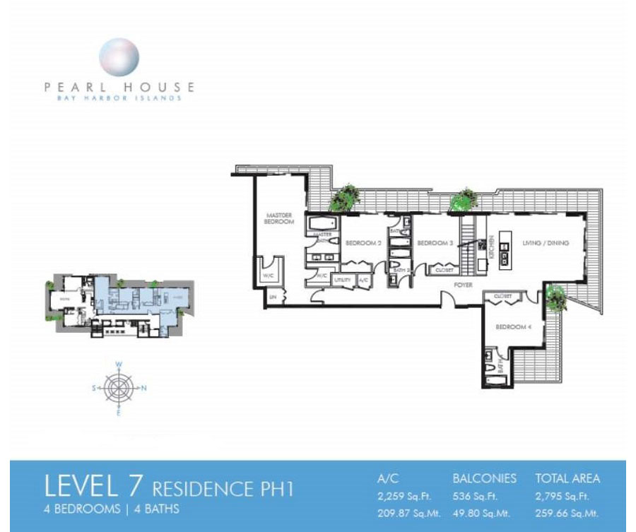 Pearl House - Floorplan 14