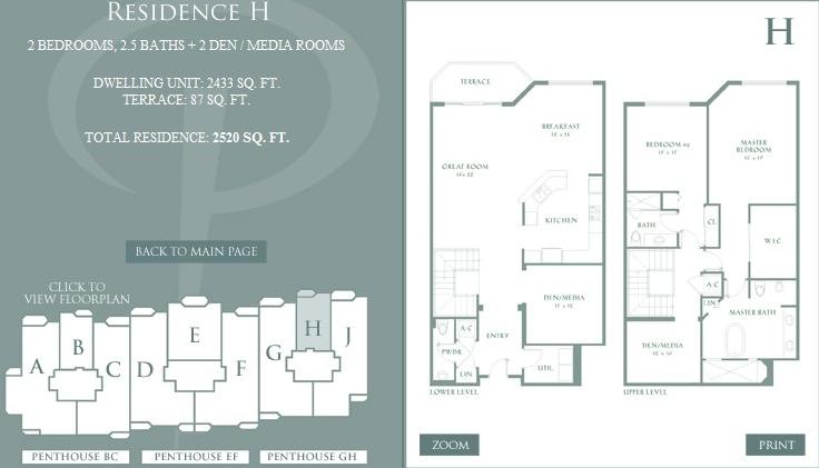 Peninsula - Floorplan 9