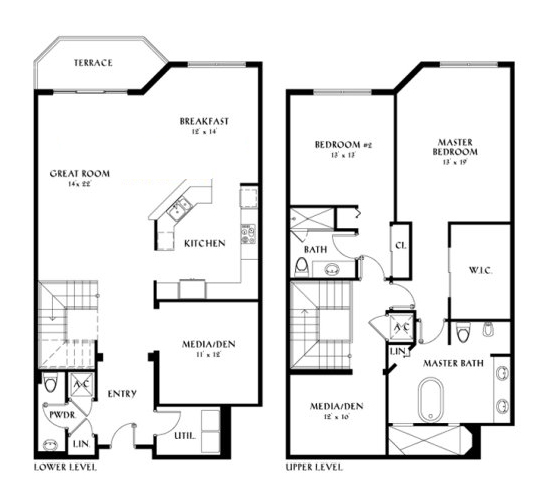 Peninsula II - Floorplan 2