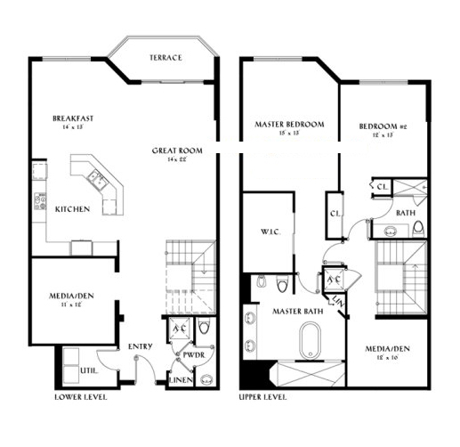 Peninsula II - Floorplan 4