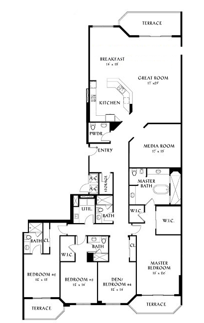 Peninsula II - Floorplan 5