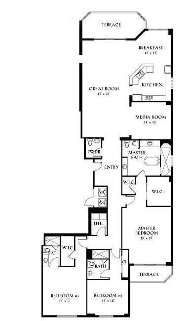 Peninsula II - Floorplan 6