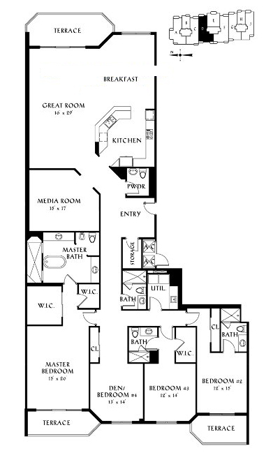 Peninsula II - Floorplan 9